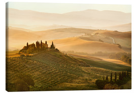 Canvas print  Tuscany flair