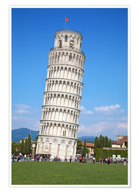 Premium poster Leaning tower of Pisa, Italy
