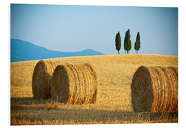 Forex  Tuscany landscape with straw bales