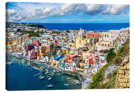 Canvas print  Procida island in Italy