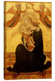 Canvas print  Madonna and Child with Angels - Stefano di Giovanni Sassetta