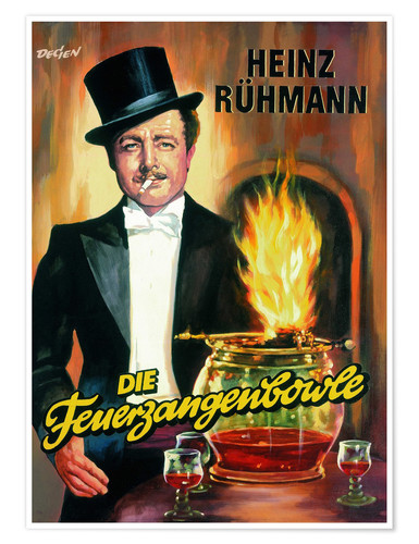 Poster The Feuerzangenbowle