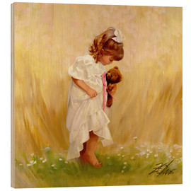 Wood  Barefoot in the Grass - Donald Zolan
