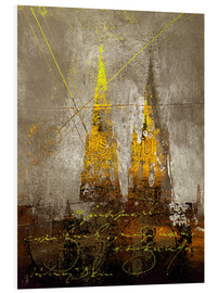 Foam board print  cologne cathedrale - Vittorio Vitale