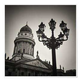 Premium poster Berlin - Gendarmenmarkt Square (Analogue Photography)