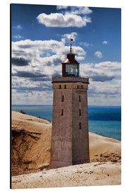 Aluminium print  Danish Lighthouse
