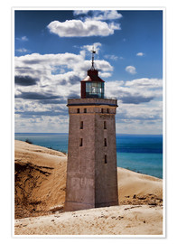 Premium poster Danish Lighthouse