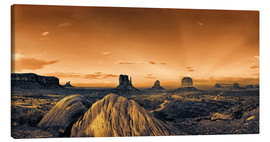 Canvas print  Kelly Monument Valley - Michael Rucker
