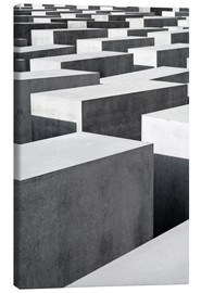 Canvas print  Holocaust Memorial in Berlin