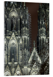 Detail of Cologne Cathedral