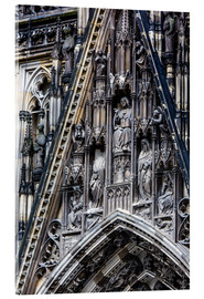 Acrylic glass  Facades detail at Cologne Cathedral