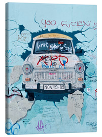 Canvas print  Berlin Wall Scene