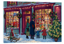Acrylic print  Toy Shop at Christmas - Steve Read