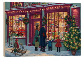 Wood  Toy Shop at Christmas - Steve Read