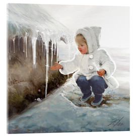 Acrylic glass  Winter Wonder - Donald Zolan