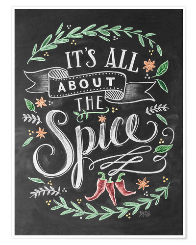 Premium poster It's all about the Spice