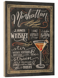 Wood  Manhattan recipe - Lily & Val