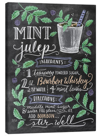 Canvas  Mint Julep recipe - Lily & Val