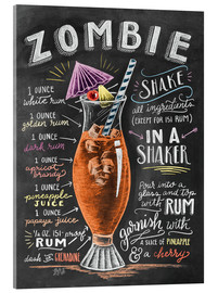Acrylic glass  Zombie Cocktail - Lily & Val