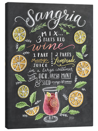 Canvas  Sangria recipe - Lily & Val