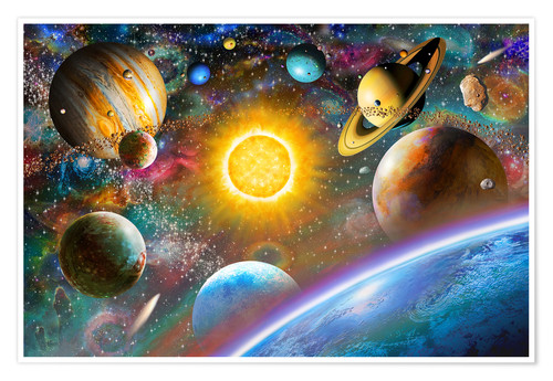 Premium poster Outer Space