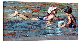 Canvas print  Playing In The Shallows - Claire McCall
