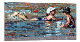 Foam board print  Playing In The Shallows - Claire McCall