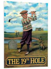 Foam board print  The 19th Hole - Peter Green's Pub Signs Collection