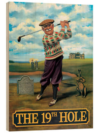 Wood  The 19th Hole - Peter Green's Pub Signs Collection