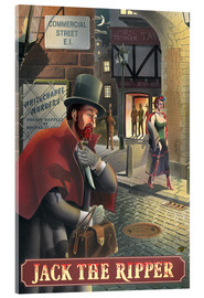 Acrylic print  Jack the Ripper - Peter Green's Pub Signs Collection