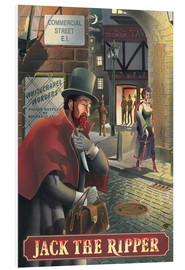 Foam board print  Jack the Ripper - Peter Green's Pub Signs Collection