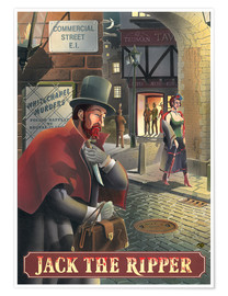 Premium poster  Jack the Ripper - Peter Green's Pub Signs Collection