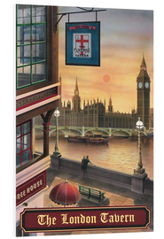 Foam board print  The London Tavern - Peter Green's Pub Signs Collection