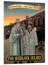Foam board print  The Sherlock Holmes - Peter Green's Pub Signs Collection
