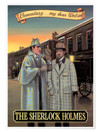 Premium poster  The Sherlock Holmes - Peter Green's Pub Signs Collection