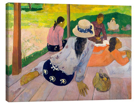 Canvas  The Siesta - Paul Gauguin