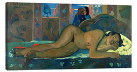 Canvas  Never again Oh Tahiti - Paul Gauguin