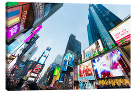Canvas  Times Square - most popular spot in New York