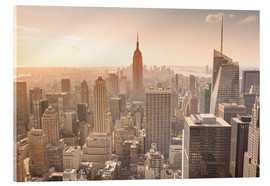 Acrylic print  Empire State Building in New York