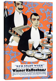 Canvas print  Viennese coffee - Max Schwarzer