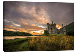 Canvas  Castle Kilchurn, Scotland - Markus Ulrich