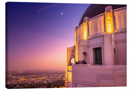 Canvas print  Griffith Observatory - Salvadori Chiara