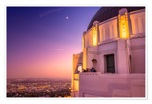 Premium poster Griffith Observatory