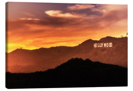 Canvas print  Hollywood - Salvadori Chiara