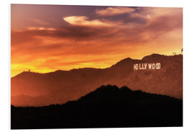 Foam board print  Hollywood - Salvadori Chiara