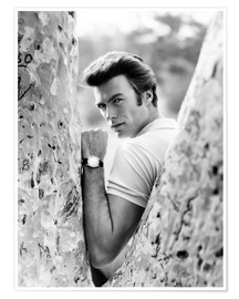 Premium poster Clint Eastwood