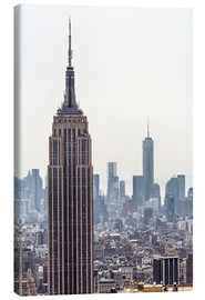 Canvas print  New York City - Empire State building
