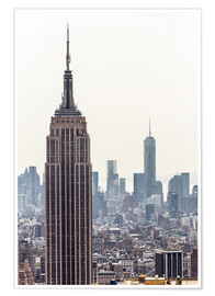 Premium poster  New York City - Empire State building