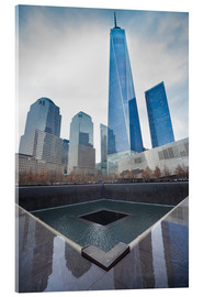 Acrylic glass  WTC Memorial Plaza, New York