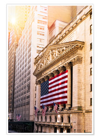 Premium poster  New York Stock Exchange